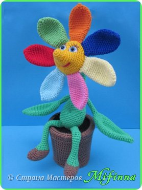 Цветик - Семицветик. Автор игрушки Nastya oren. фото 1