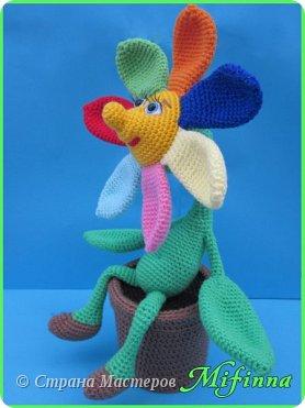 Цветик - Семицветик. Автор игрушки Nastya oren. фото 3