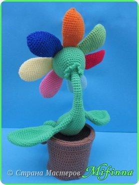 Цветик - Семицветик. Автор игрушки Nastya oren. фото 4