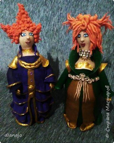 куклы из холодного фарфора фото 4
