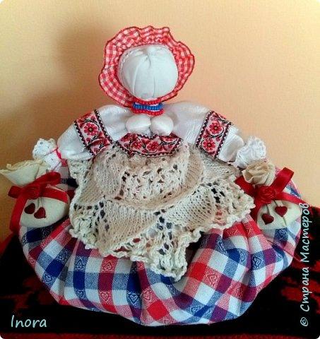 И ещё одна кукла-мотанка в моей коллекции - Травница.