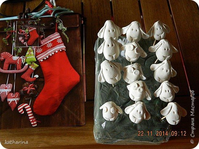 Старые новогодние поделки. фото 1