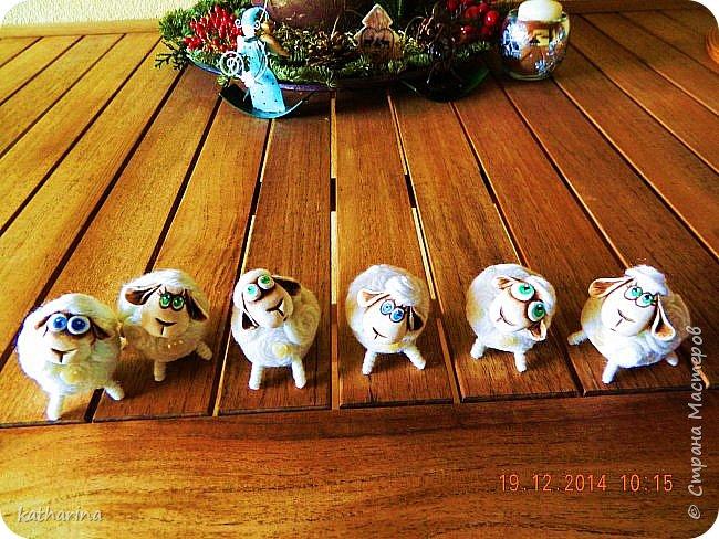 Старые новогодние поделки. фото 4
