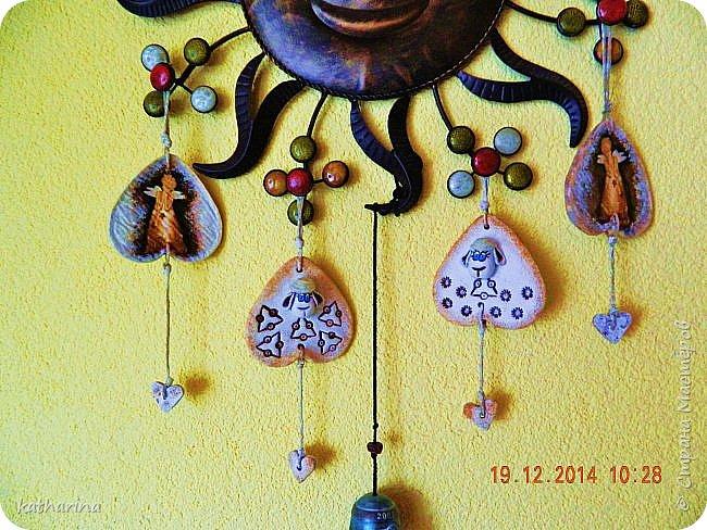 Старые новогодние поделки. фото 5