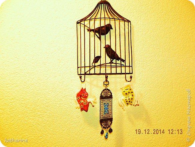 Старые новогодние поделки. фото 9