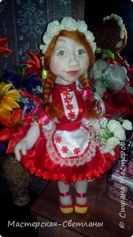 Вот такая украиночка у меня получилась, долго капризничала но все таки мы выбрали наряд. фото 2