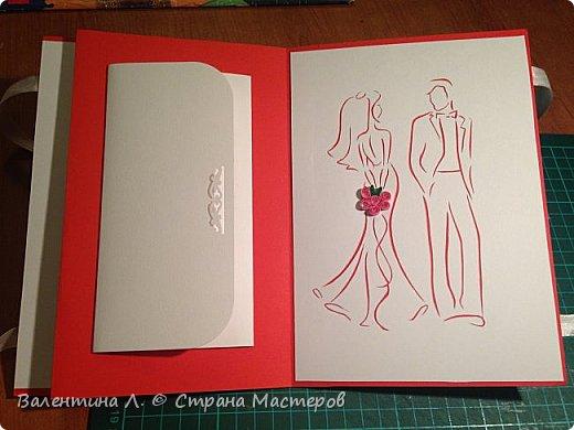 Открытка на свадьбу фото 3