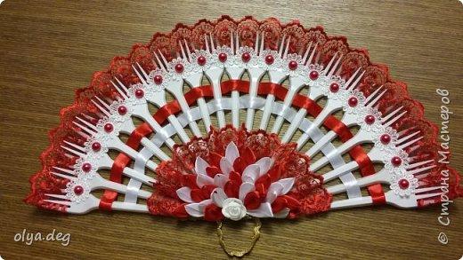 Декоративный веер