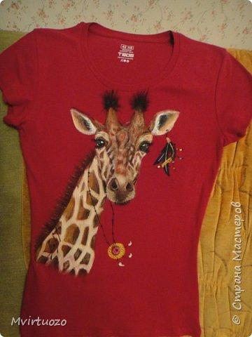 Здравствуйте, мои дорогие! И снова выношу на ваш суд футболочки для мамы и дочки - постаралась в одном этно-стиле.. фото 4