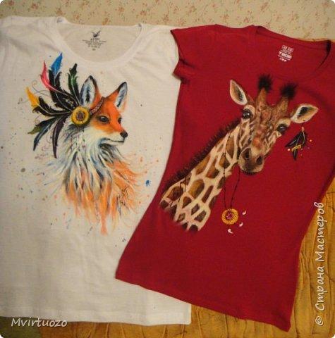 Здравствуйте, мои дорогие! И снова выношу на ваш суд футболочки для мамы и дочки - постаралась в одном этно-стиле.. фото 13