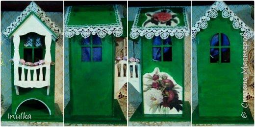 """Чайный домик """"домик с балконом"""""""