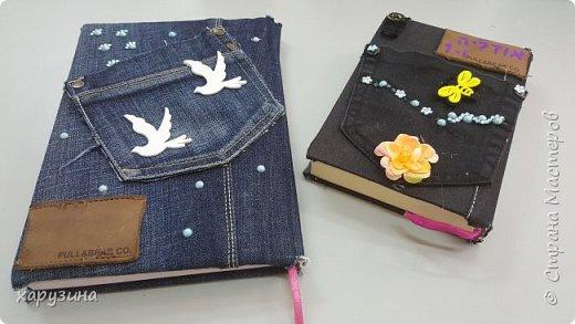 Ежедневники в джинсе фото 2