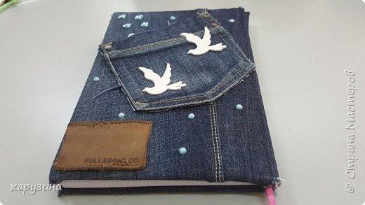 Ежедневники в джинсе фото 3