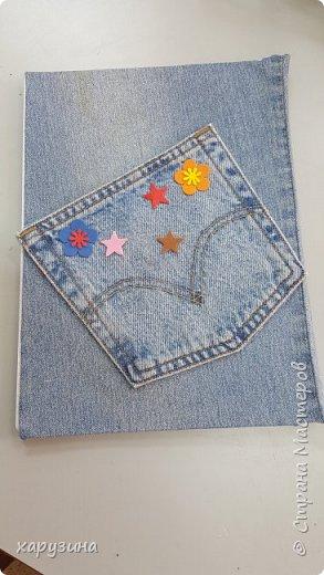 Ежедневники в джинсе фото 4