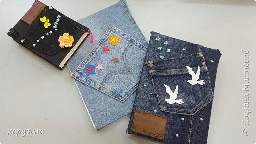 Ежедневники в джинсе фото 1