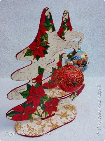 Добрый вечер,Страна! Сегодня я к Вам со своими ёлками-подвесками для новогодних шаров! Подробный мастер-класс по их изготовлению можно посмотреть здесь http://stranamasterov.ru/node/985879 Работ много,как и фотографий! фото 11
