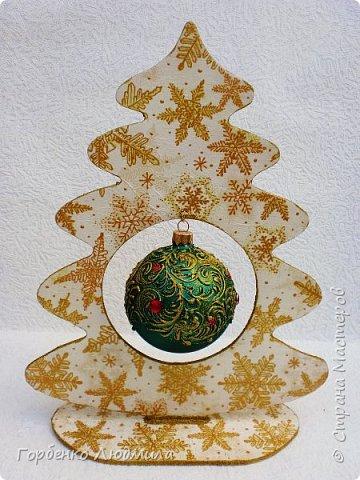 Добрый вечер,Страна! Сегодня я к Вам со своими ёлками-подвесками для новогодних шаров! Подробный мастер-класс по их изготовлению можно посмотреть здесь http://stranamasterov.ru/node/985879 Работ много,как и фотографий! фото 23