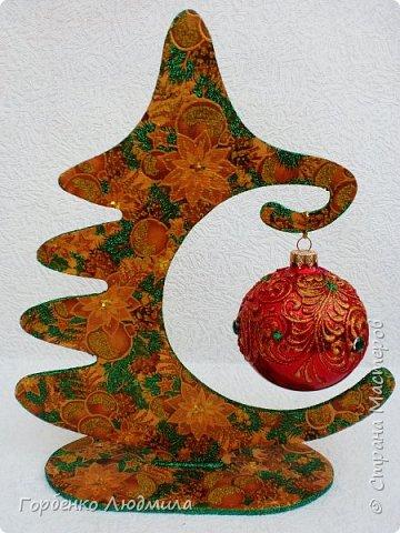 Добрый вечер,Страна! Сегодня я к Вам со своими ёлками-подвесками для новогодних шаров! Подробный мастер-класс по их изготовлению можно посмотреть здесь http://stranamasterov.ru/node/985879 Работ много,как и фотографий! фото 18