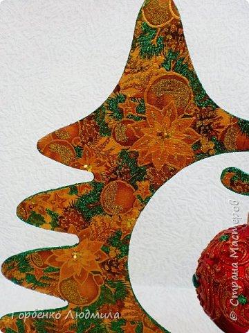 Добрый вечер,Страна! Сегодня я к Вам со своими ёлками-подвесками для новогодних шаров! Подробный мастер-класс по их изготовлению можно посмотреть здесь http://stranamasterov.ru/node/985879 Работ много,как и фотографий! фото 19