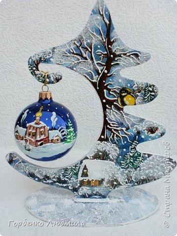 Добрый вечер,Страна! Сегодня я к Вам со своими ёлками-подвесками для новогодних шаров! Подробный мастер-класс по их изготовлению можно посмотреть здесь http://stranamasterov.ru/node/985879 Работ много,как и фотографий! фото 2
