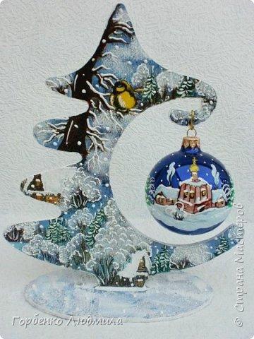 Добрый вечер,Страна! Сегодня я к Вам со своими ёлками-подвесками для новогодних шаров! Подробный мастер-класс по их изготовлению можно посмотреть здесь http://stranamasterov.ru/node/985879 Работ много,как и фотографий! фото 3