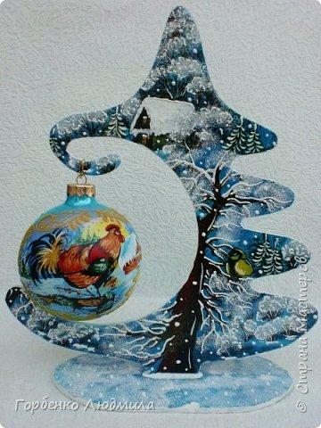 Добрый вечер,Страна! Сегодня я к Вам со своими ёлками-подвесками для новогодних шаров! Подробный мастер-класс по их изготовлению можно посмотреть здесь http://stranamasterov.ru/node/985879 Работ много,как и фотографий! фото 6