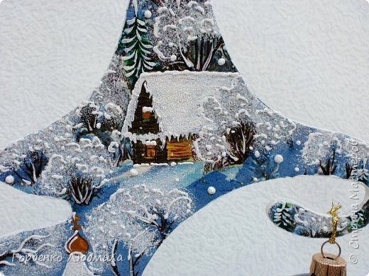 Добрый вечер,Страна! Сегодня я к Вам со своими ёлками-подвесками для новогодних шаров! Подробный мастер-класс по их изготовлению можно посмотреть здесь http://stranamasterov.ru/node/985879 Работ много,как и фотографий! фото 10