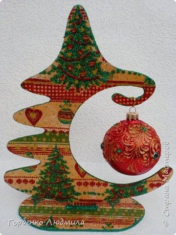 Добрый вечер,Страна! Сегодня я к Вам со своими ёлками-подвесками для новогодних шаров! Подробный мастер-класс по их изготовлению можно посмотреть здесь http://stranamasterov.ru/node/985879 Работ много,как и фотографий! фото 25