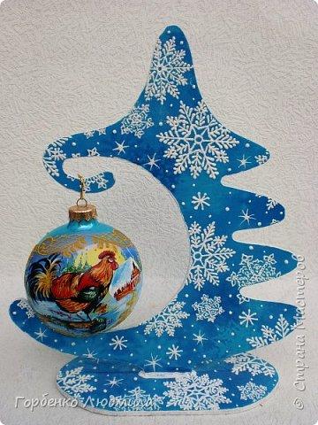 Добрый вечер,Страна! Сегодня я к Вам со своими ёлками-подвесками для новогодних шаров! Подробный мастер-класс по их изготовлению можно посмотреть здесь http://stranamasterov.ru/node/985879 Работ много,как и фотографий! фото 34