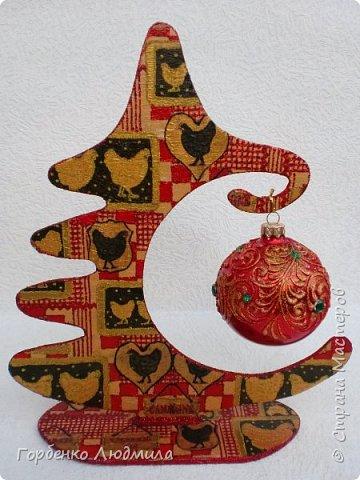 Добрый вечер,Страна! Сегодня я к Вам со своими ёлками-подвесками для новогодних шаров! Подробный мастер-класс по их изготовлению можно посмотреть здесь http://stranamasterov.ru/node/985879 Работ много,как и фотографий! фото 36