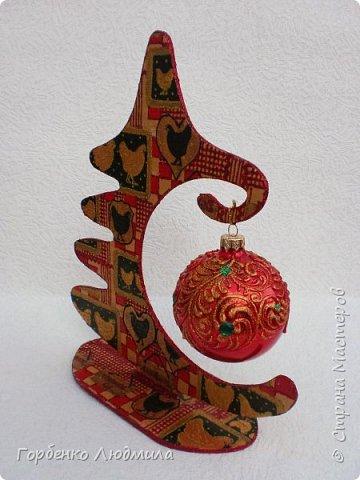 Добрый вечер,Страна! Сегодня я к Вам со своими ёлками-подвесками для новогодних шаров! Подробный мастер-класс по их изготовлению можно посмотреть здесь http://stranamasterov.ru/node/985879 Работ много,как и фотографий! фото 37