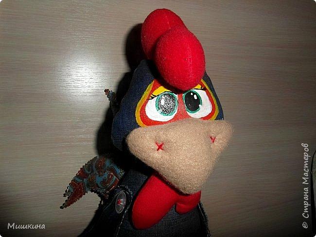 Добрый всем вечер! Я не устояла и сшила петуха по Марианне http://stranamasterov.ru/node/1046789 . Давно руки чесались. Правда у нее крутые игрушки? фото 1