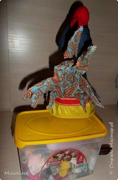 Добрый всем вечер! Я не устояла и сшила петуха по Марианне http://stranamasterov.ru/node/1046789 . Давно руки чесались. Правда у нее крутые игрушки? фото 5