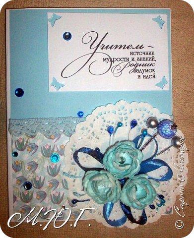 Вдохновилась я шикарными открыточками Светланы http://stranamasterov.ru/user/108671 и наштамповала своих кучку))))всего 8 штучек фото 4