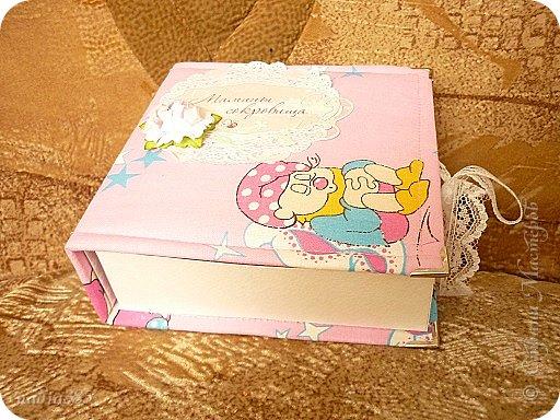 Здравствуй   моя дорогая страна!!! Вот такая коробочка у меня теперь есть для сокровищ моей доченьки. фото 2
