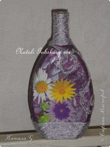 Декор бутылок (разные) фото 1