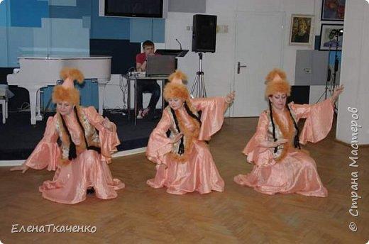 Казахский стилизованный костюм фото 2
