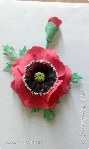 Брошь-роза фото 2