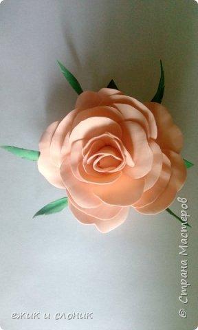 Брошь-роза фото 1