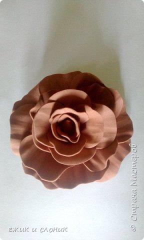 Брошь-роза фото 6