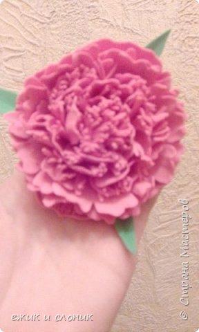 Брошь-роза фото 3