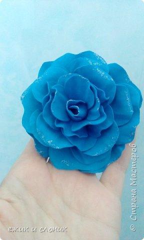 Брошь-роза фото 5