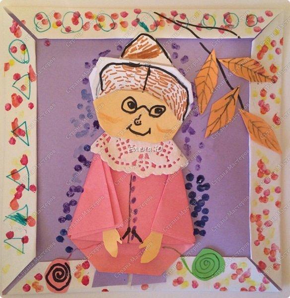 Как сложить бабушку оригами можно посмотреть здесь: http://stranamasterov.ru/node/958755  фото 4