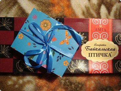 Добрый вечер!!! Вот и я получила третью посылочку по совместнику (обмену АТС) http://stranamasterov.ru/node/1040245?tid=675  А получила ее от Альбины Николаевны... Посмотрите какую красоту мне прислали... и порадуйтесь вместе со мной!! Общий вид...все упаковано по разным кулечкам... фото 15