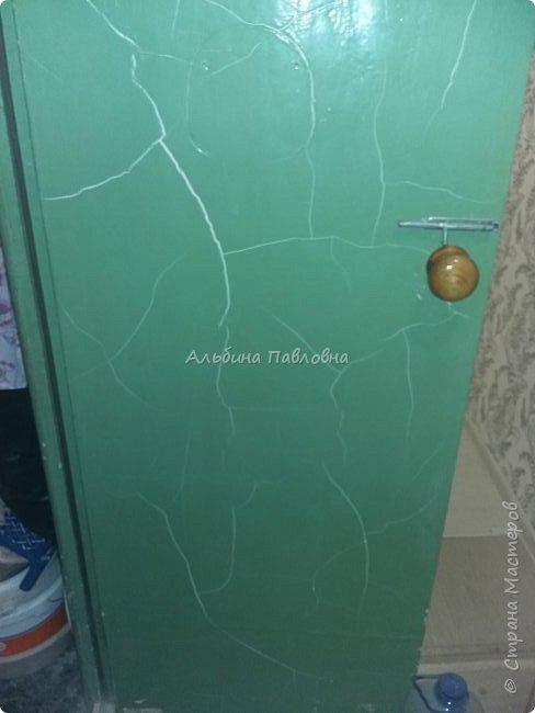 Вот такая потрескавшаяся дверь мне досталась.  фото 1