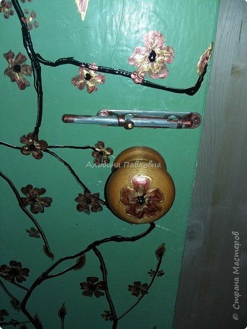 Вот такая потрескавшаяся дверь мне досталась.  фото 7