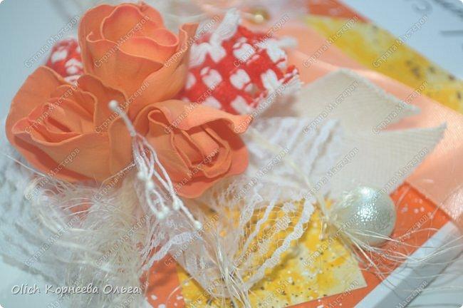 Шоколадницы на день учителя. Открываются книжкой. Основа - плотная бумага для акварели. Для декора использовала цветную бумагу, ленты, полубусины, кружево, фетр, салфетку, тычинки. Бутончики сделаны из фоамирана. фото 16