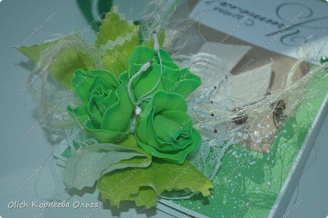 Шоколадницы на день учителя. Открываются книжкой. Основа - плотная бумага для акварели. Для декора использовала цветную бумагу, ленты, полубусины, кружево, фетр, салфетку, тычинки. Бутончики сделаны из фоамирана. фото 19