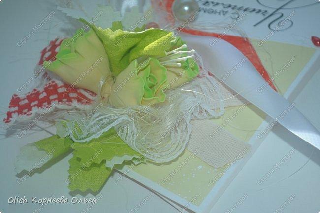 Шоколадницы на день учителя. Открываются книжкой. Основа - плотная бумага для акварели. Для декора использовала цветную бумагу, ленты, полубусины, кружево, фетр, салфетку, тычинки. Бутончики сделаны из фоамирана. фото 27