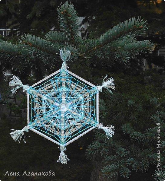 Добрый всем день или вечер ! Наплелись у меня снежинки-мандалы, скоро уже не за горами Новый год и Рождество! фото 2